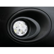 LED Day Running Lights Kit DRL  Renault Master, Nissan Interstar 2010 onwards black textured