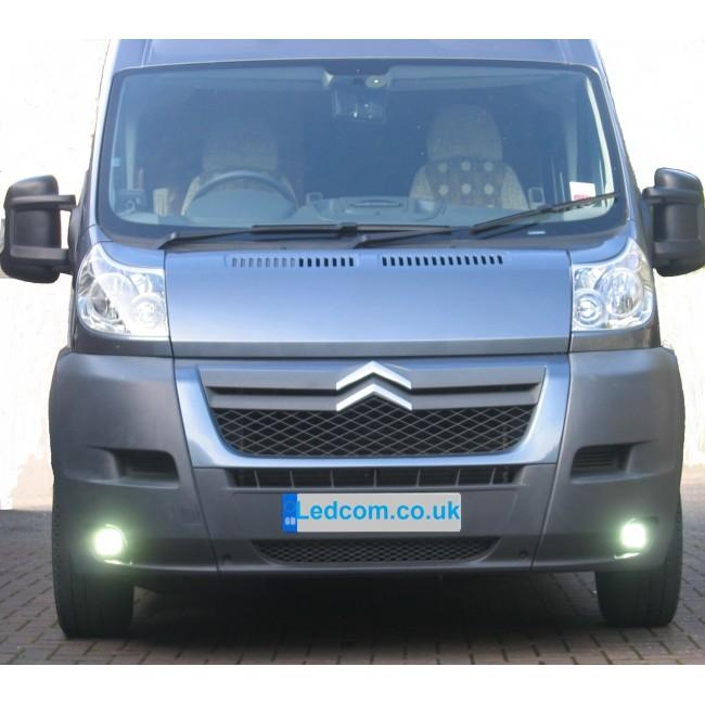 led day running lights kit for citroen relay jumper vans. Black Bedroom Furniture Sets. Home Design Ideas