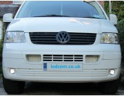 Volkswagen T5 Transporter / Caravelle DRL Kit Daytime Running Lights 2003 to 2009