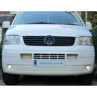 Volkswagen T5 Transporter / Caravelle DRL Kit Daytime Running Lights 2003 to 2009