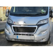 Pod Light Kit SILVER Daytime Running Lights DRL LED - Ducato, Boxer, Relay, X290. 2014 onwards