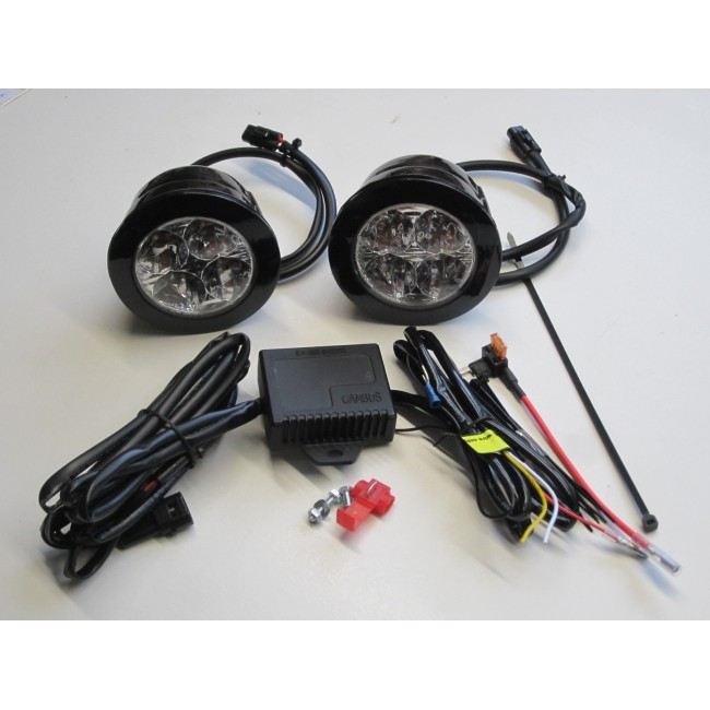 Led Day Running Lights Kit Drl Vauxhall Vivaro  Renault