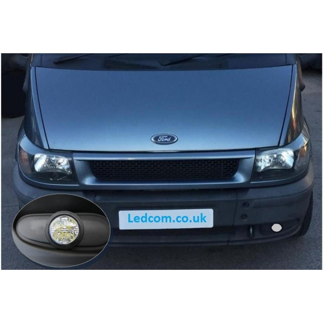 DRL Day Running Lights kit Ford Transit Van and Motorhome Mk6 2000 ...