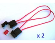 Blade fuse holders - up to 30amp for standard ATC fuses
