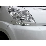 NEW NEW ! Stylish Curved DRL' for the Fiat Ducato X250 Type Motorhomes - as supplied to models at the NEC Motorhome Show 2013