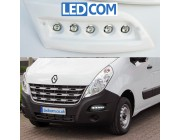 Pod Light Kit Daytime Running Lights DRL Renault Master 2010 to 2019 for painting