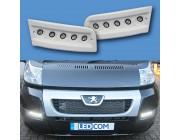 Pod Light Kit WHITE Daytime Running Lights DRL LED - Ducato, Boxer, Relay, X250