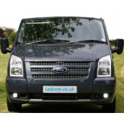DRL Day Running Lights Kit Ford Transit Van and Motorhome MK7 Sept 06 to 2014