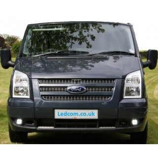 DRL Day Running Lights kit Ford Transit Van and Motorhomes MK7 2006 to 2014