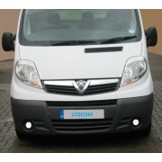 LED Day Running Lights Kit DRL Vauxhall Vivaro, Renault Trafic, Nissan Primastar 2007 to 2014