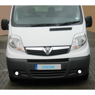 LED Day Running Lights Kit DRL Vauxhall Vivaro, Renault Trafic, Nissan Primastar